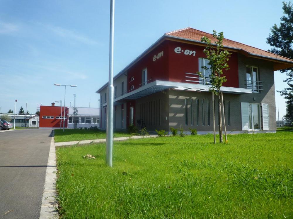 Nagyhegyes E.ON Földgáz Storage Zrt. iroda- és portaépület építése